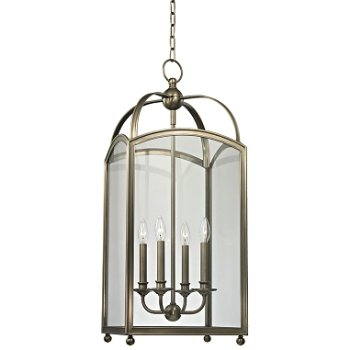 Shown in Historic Nickel finish, Large size