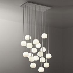 Lumi-Mochi Linear Multi-Light Pendant