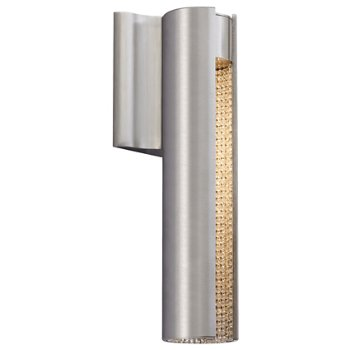 Shown in Satin Nickel with Clear Crystal finish