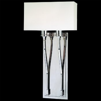 Selkirk 2-Light Wall Sconce (Polished Nickel) - OPEN BOX