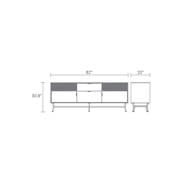 Dang 2 Door/2 Drawer Console