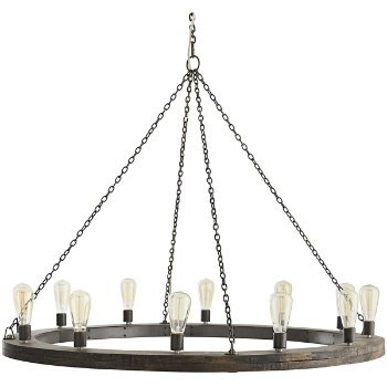 Shown in Dark Gray finish, Large size