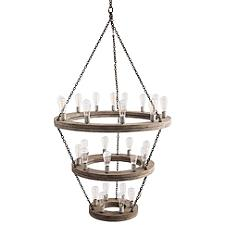 Geoffrey 3-Tier Chandelier