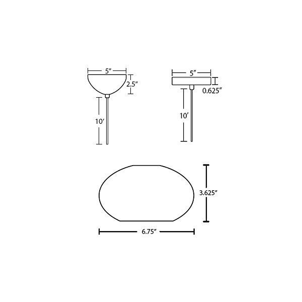 Brio 7 Mini Pendant