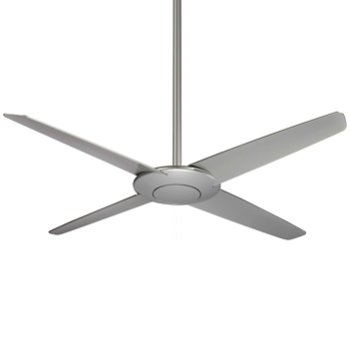 Shown in Silver Fan Body and Blade Finish