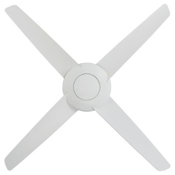 Shown in Flat White Fan Body and Blade Finish