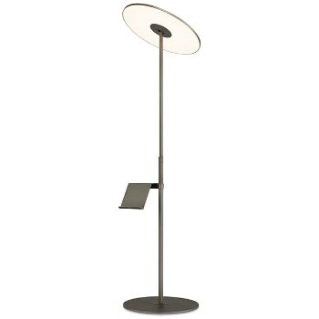 Circa LED Floor Lamp with Pedestal