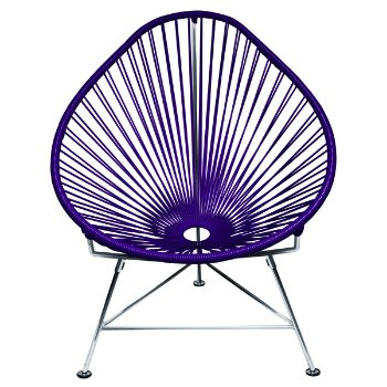 Shown in Purple with Chrome Frame finish