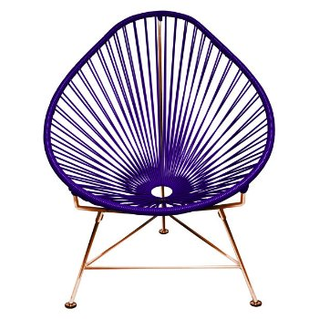 Shown in Purple with Copper Frame finish