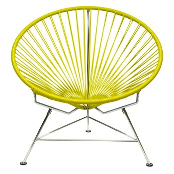 Shown in Yellow with Chrome frame