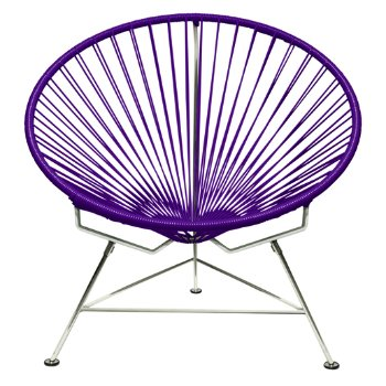 Shown in Purple with Chrome frame