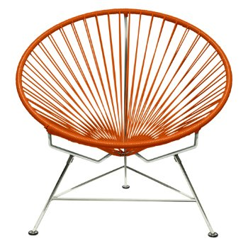 Shown in Orange with Chrome frame