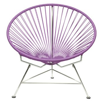 Shown in Orchid with Chrome frame