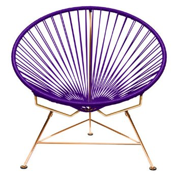Shown in Purple with Copper frame