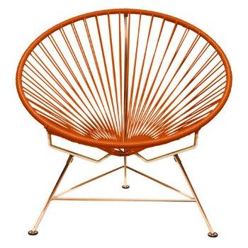 Shown in Orange with Copper frame