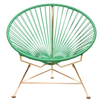 Shown in Mint with Copper frame