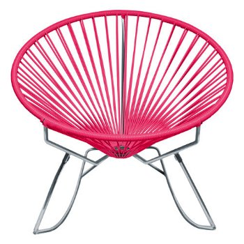 Shown in Pink with Chrome frame