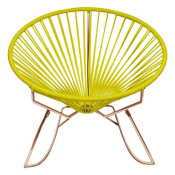 Shown in Yellow with Copper frame