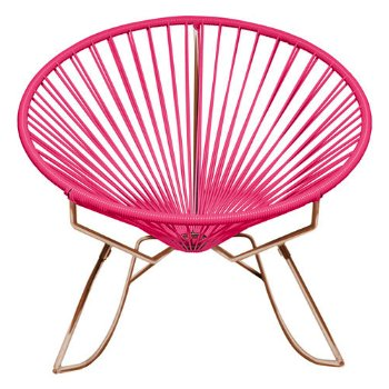 Shown in Pink with Copper frame