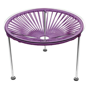 Shown in Orchid, Chrome Finish