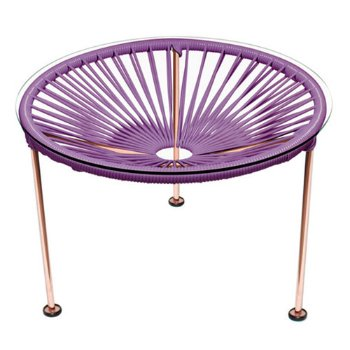 Shown in Orchid, Copper Finish