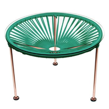Shown in Turquoise, Copper Finish