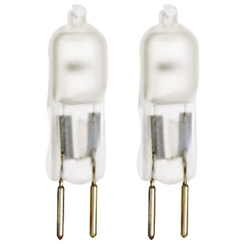20W 12V T3 G4 Halogen Frosted Bulb (Pack