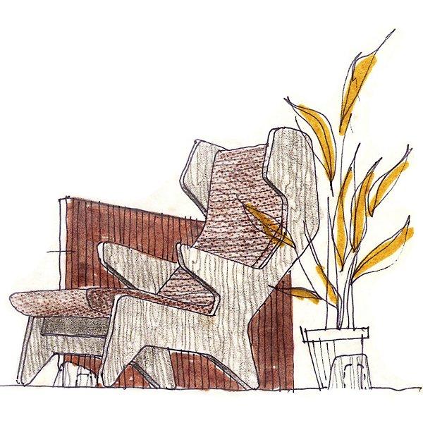 Rapson Cave Chair