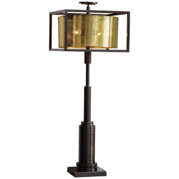 Double shade table lamp by global views at lumens double shade table lamp aloadofball Choice Image