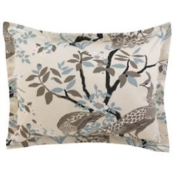 Peacock Pillow Sham Pair