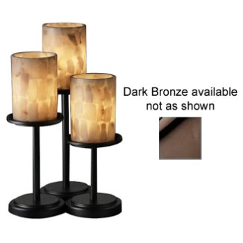 Alabaster Rocks! Dakota Table Lamp (Dark Bronze) - OPEN BOX