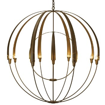 Double cirque chandelier by hubbardton forge at lumens double cirque chandelier aloadofball Choice Image