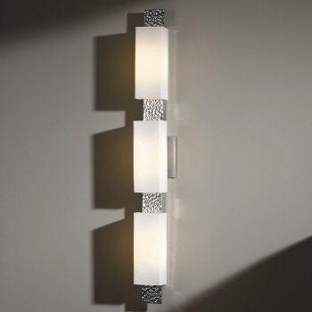 Shown in Opal shade, Vintage Platinum, 3-Light option