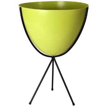 Shown in Chartreuse, Medium stand
