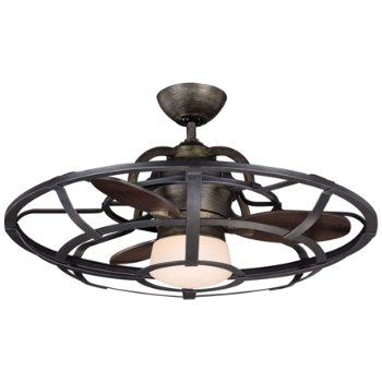 Alsace Caged Ceiling Fan