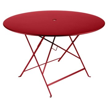 Shown in Poppy Red Smooth Textured, 46 Inch