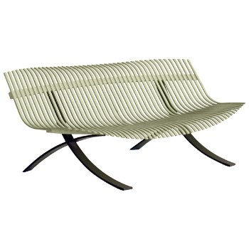 Shown in Willow Green Matte Textured, Liquorice finish