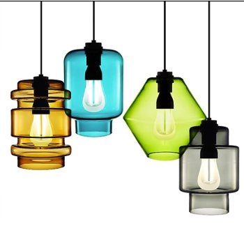 Delinea Pendant with Calla Pendant and Axia Pendant