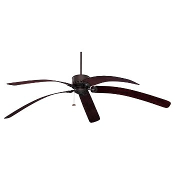Maui bay bent wood blade ceiling fan by emerson fans at - Curved blade ceiling fan ...