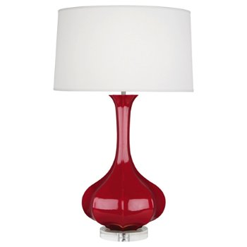 Shown in Ruby Red
