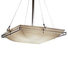 Porcelina Metropolis Square Bowl Pendant Light