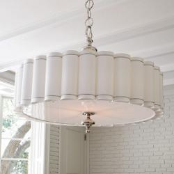 Enormous Fluted Pendant