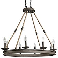 Kearn 8 Light Chandelier