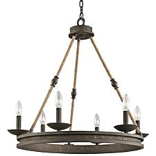 Kearn 6 Light Chandelier