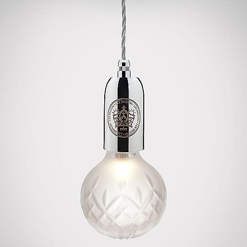 Crystal bulb pendant by lee broom at lumens mozeypictures Gallery