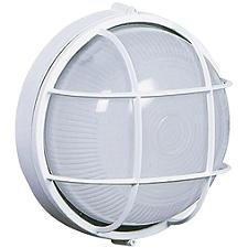 Marine Outdoor Round Wall Sconce