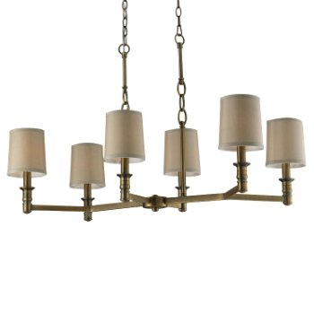 Baxter 31267 Chandelier (Antique Brass) - OPEN BOX RETURN