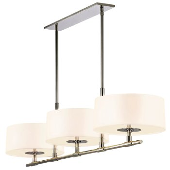 Shown in Polished Nickel with White