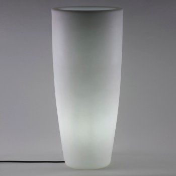 Aix Moderna LED Planter, lit, in use