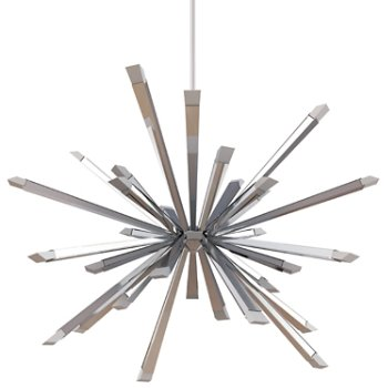Shown in Polished Chrome finish, 40 inch